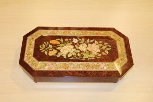 Inlaid music box Sorrento
