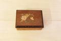 Handcrafted Italian inlaid wood box