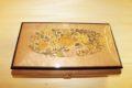 Handcrafted italian inlaid music box