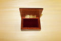 Velvet lining - Sorrento inlaid wood box