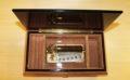 Velvet lining - Handcrafted italian inlaid music box