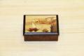 Italian inlaid wood box