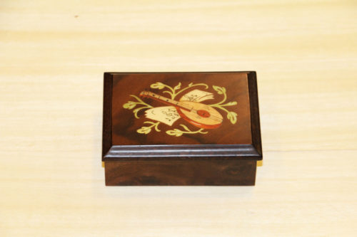 Italian inlaid box