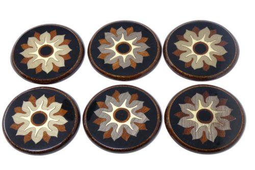 set-sottobicchieri-fiore-nero-SBI-12